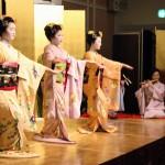 祝舞「祇園小唄」舞妓:まめ柳、まめ春、朋子