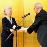 武田病院名誉院長 武田道子氏感謝状贈呈
