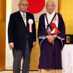 森清範氏と森田嘉一会長