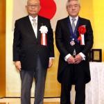 田中裕也氏と森田嘉一会長
