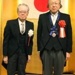 安田喜憲氏と真栄城徳佳会長
